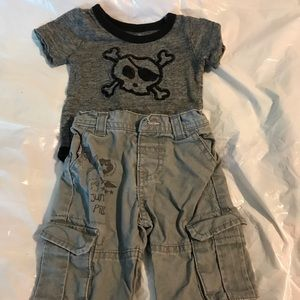 Other - Cute lil man outfit!! 3 months, like new!
